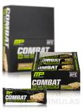 Combat Crunch Bars - Cinnamon Twist Flavor - Box of 12 Bars (2.22 oz / 63 Grams each)