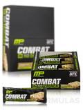Combat Crunch Bars - Cinnamon Twist Flavor - Box of 12 Bars (2.22 oz / 63 Grams each)