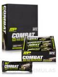Combat Crunch Bars - Cookies 'N' Cream - Box of 12 Bars (2.22 oz / 63 Grams each)