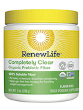 Complete Clear Organic Prebiotic Fiber Powder, Flavor Free - 7 oz (198 Grams)