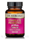 Complete Probiotics for Women, 70 Billion CFU - 60 Capsules