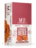 Cookie Bites Double Dutch Chocolate - Box of 8 Packs, 3 Cookies per Package