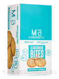 Cookie Bites White Chocolate Macadamia - Box of 8 Packs, 3 Cookies per Package