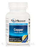 Copper 2 mg - 60 Vegetable Capsules