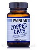 Copper Caps 2 mg 100 Capsules