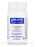 Copper (citrate) - 60 Capsules
