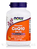 CoQ10 200 mg (Chewable) with Vitamin E & Lecithin 90 Lozenges