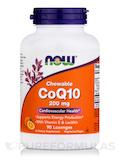 CoQ10 200 mg (Chewable) with Vitamin E & Lecithin - 90 Lozenges