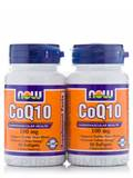 CoQ10 100 mg Twin Pack 2/50 Softgels