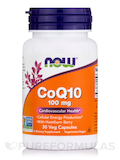 CoQ10 100 mg with Hawthorn Berry - 30 Vegetarian Capsules