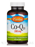 CoQ10 200 mg - 90 Soft Gels