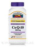 CoQ-10 200 mg (Extra Strength) - 120 Capsules