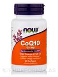 CoQ10 60 mg with Omega 3 Fish Oils - 30 Softgels