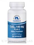 CoQ10 100 mg Plus E - 60 Capsules