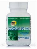CoQsol (Dogs & Cats) 30 mg 90 Gel Capsules