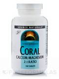 Coral Calcium with Magnesium 180 Tablets