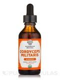 Organic Cordyceps Militaris Tincture - 2 fl. oz (59 ml)