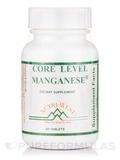 Core Level Manganese - 60 Tablets