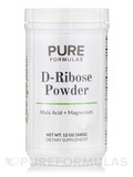 D-Ribose Powder Malic Acid + Magnesium - 12 oz (340 Grams)