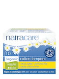 Cotton Tampons - Regular - 10 Tampons