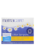Cotton Tampons - Super - 10 Tampons