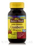 Cranberry 450 mg with Vitamin C 60 Softgels