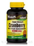 Cranberry 6000 mg (50:1 Fruit Concentrate) Super Strength - 60 Softgels