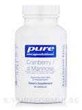 Cranberry/d-Mannose 90 Capsules