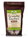 NOW® Real Food - Crunchy Clusters (Almonds) - 9 oz (255 Grams)