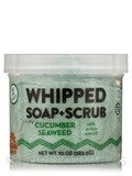 Cucumber Seaweed Whipped Soap + Scrub - 10 oz (283.5 Grams)