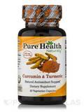 Curcumin & Turmeric 30 Vegetarian Capsules