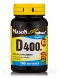D 400 IU (Vitamin D3) - 100 Softgels