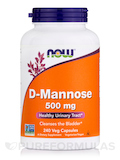 D-Mannose 500 mg - 240 Veg Capsules