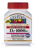D3-1000 - 300 Tablets