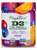 D3 1000 IU (25 mcg), Mixed Fruit Flavor - 70 Gummies