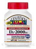 D3-2000 IU (Super Strength) - 110 Tablets