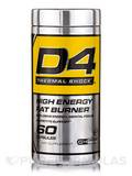 D4 Thermal Shock, High Energy Fat Burner - 60 Capsules