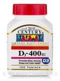D-400 IU - 100 Tablets