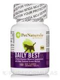 Daily Best for Cats Beef 100 Beef Flavored Chewable Tablets