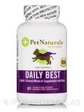 Daily Best for Puppies 60 Chicken Liver Flavored Chewable Tablets