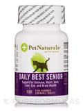 Daily Best Senior for Cats 100 Fish Flavored Chewable Tablets