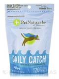 Daily Catch with Wild Alaskan Salmon Oil for Cats 120 Semi-Moist Fish-Shaped Treats