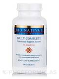 Daily Complete Nutritional Support System (No Added Iron) - 180 Tablets