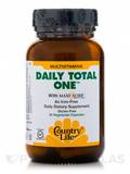 Daily Total One Iron Free 30 Vegetarian Capsules