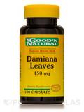 Damiana Leaves 450 mg 100 Capsules