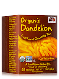 NOW® Real Tea - Dandelion Cleansing Herbal Tea Bags - Box of 24 Packets
