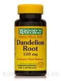 Dandelion Root 520 mg - 100 Capsules