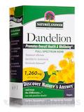 Dandelion Root 1260 mg - 90 Vegetarian Capsules