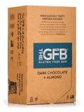 Dark Chocolate + Almond Bars - Box of 12 Bars (2.05 oz / 58 Grams each)