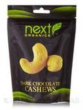 Dark Chocolate Cashews - 4 oz (113 Grams)